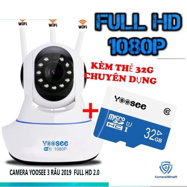 Camera IP YooSee 3 Anten FHD1080P - 2.0mpx (bảo hành 12 tháng)