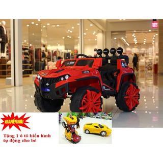 (M288) Xe ô tô điện trẻ em SH-1188(Tặng 1 ô tô biến hình tự động)