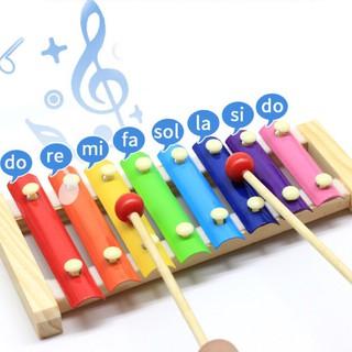 Bộ đồ chơi âm nhạc – Đàn gỗ 8 quãng