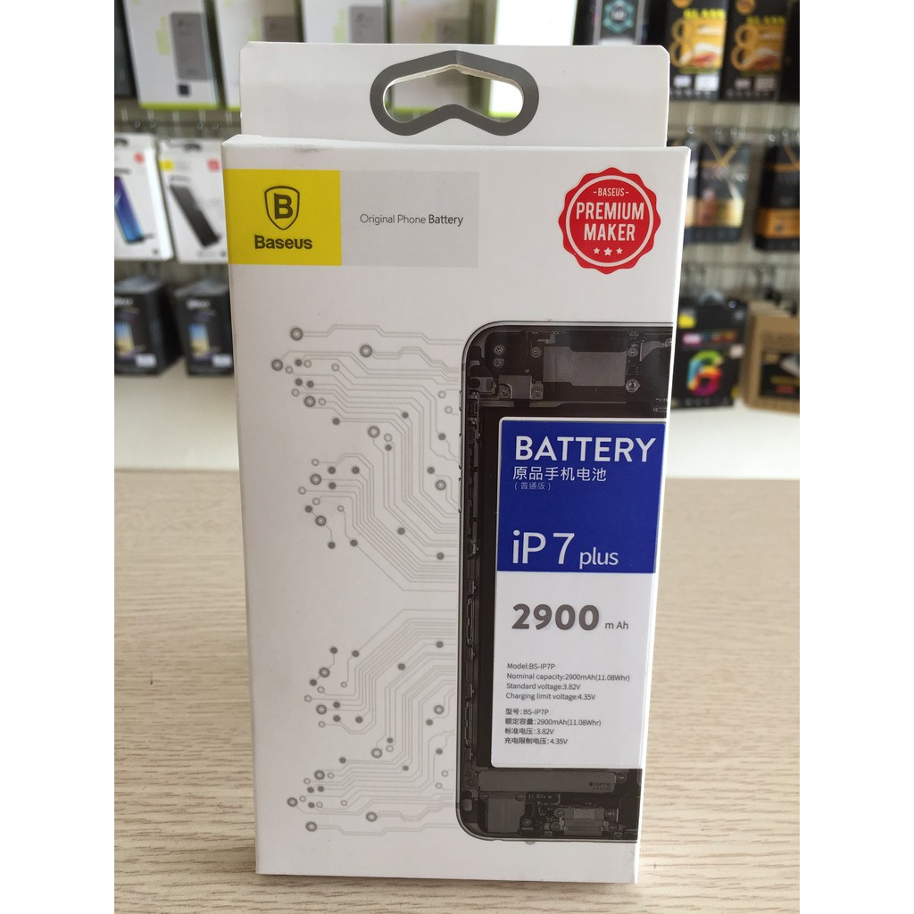 Pin iPhone 7 Plus – hiệu Baseus (2900 mAh)