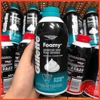 Bọt cạo râu Gillette Foamy 311g – Chính hãng Mỹ
