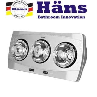 Đèn sưởi Hans 3 bóng H3B