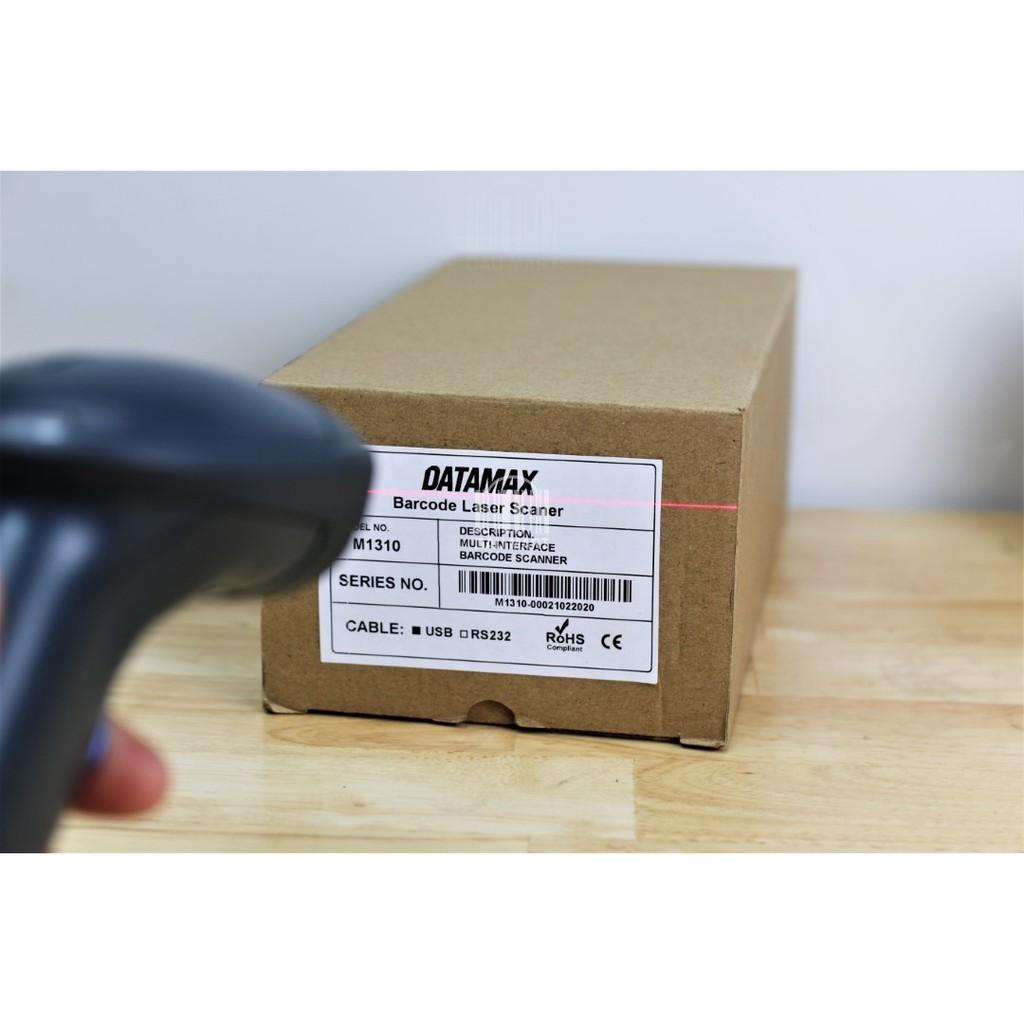 Máy quét mã vạch cầm tay DATAMAX M1310 CCD có dây - Súng scan mã Barcode 1D dành cho chủ shop shiper và quản lý kho hàng
