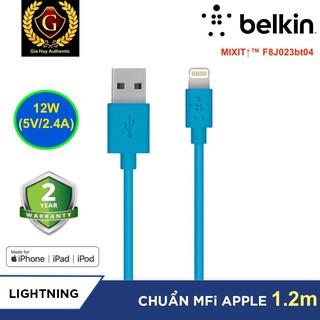 Cáp sạc iPhone, iPad, iPod USB-A ra Lightning BELKIN MIXIT TM F8J023bt04 chuẩn MFi dài 1.2m thumbnail
