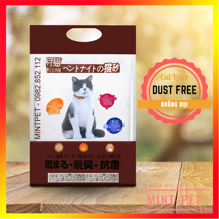 Cát Vệ Sinh Cho Mèo Siêu Rẻ Siêu Tiết Kiệm Bao 8L & 5L- Cát Mèo Giá Rẻ #MintPet