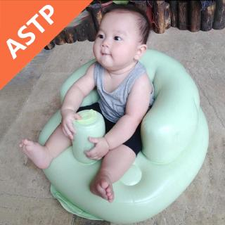 ASTP Inflatable Baby Sofa Learn Training Seat Bath Dining Chair Inflatable Baby Sofa Learn Training Seat Ba