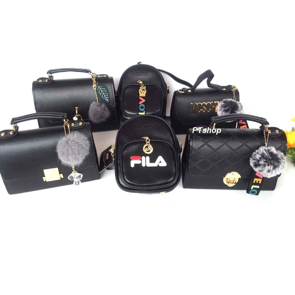Combo 4 túi xách nữ + 2 balo nữ thời trang