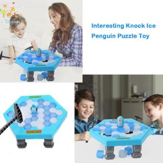 Toy ♡ Funny Knocking Ice Penguin Trap Education Desktop Parent-child Toy Kid Gift