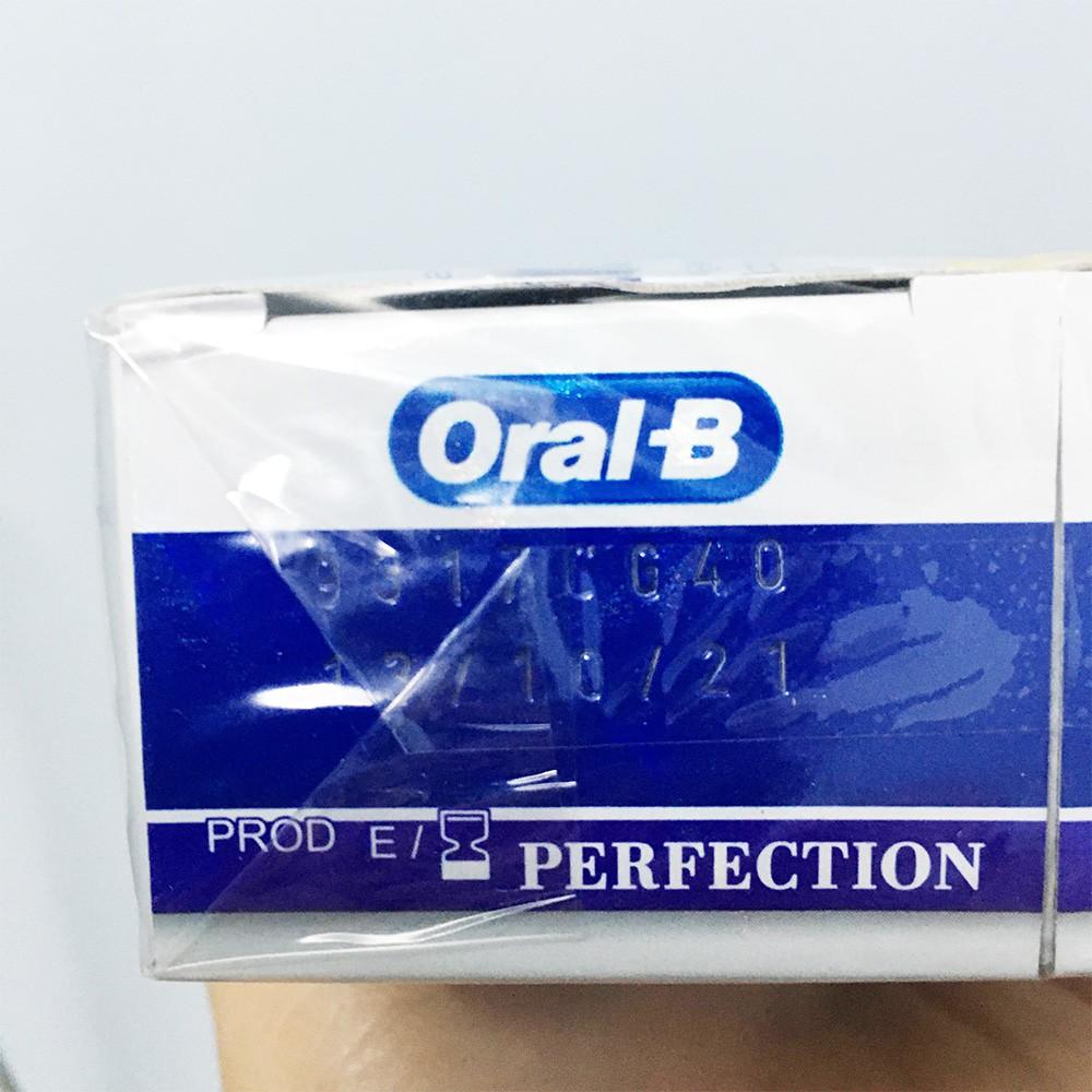 Kem đánh răng làm trắng răng Oral-B 3D White Luxe Perfection và Pearl Glow