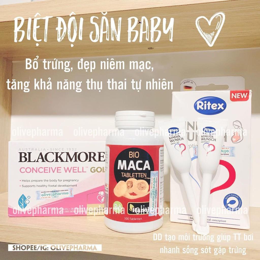 Viên Uống Tăng Khả Năng Thụ Thai BLACKMORE CONCEIVE WELL GOLD 56v