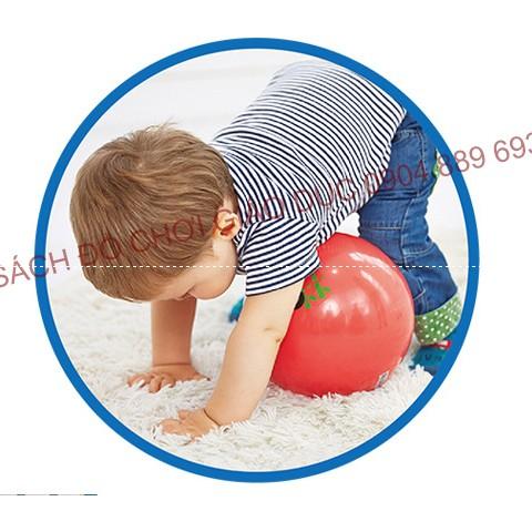 Bóng Fisher Price 22cm bằng cao su êm mềm an toàn cho bé
