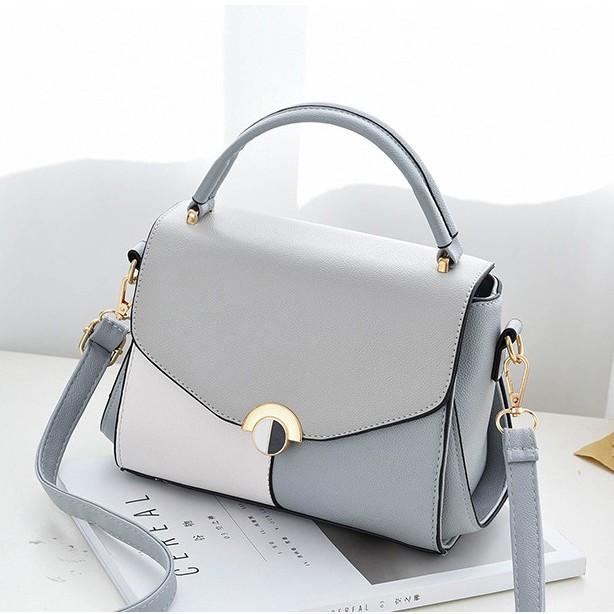 Túi xách tay đeo vai thời trang Ngoc Diep Shop mã 1011+tặng kèm móc khóa kiêm gương cực xinh