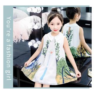 Đầm váy công chúa thiết kế mới BAO CHẤT ĐẸP cho bé yêu V19