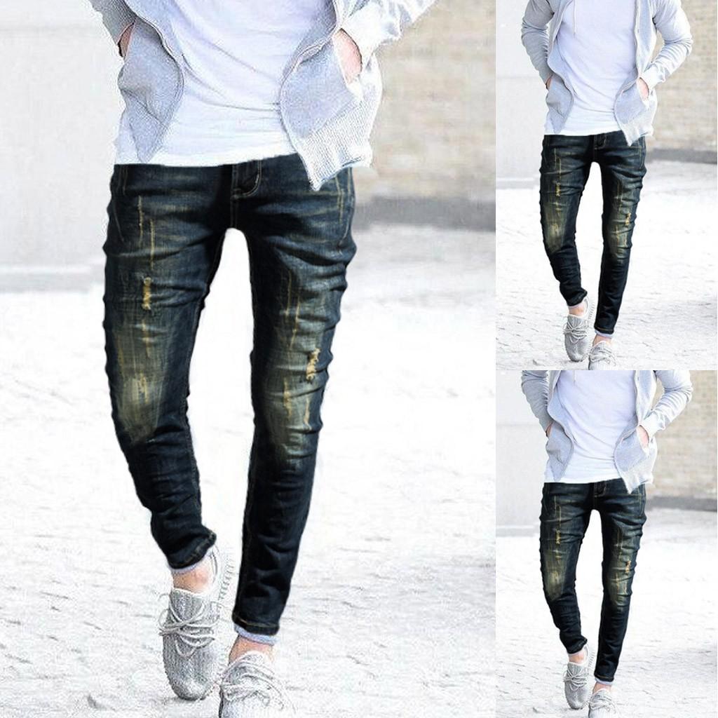 Quần jeans nam dáng ôm co giãn thời trang năng động - 22873868 , 7010943953 , 322_7010943953 , 640466 , Quan-jeans-nam-dang-om-co-gian-thoi-trang-nang-dong-322_7010943953 , shopee.vn , Quần jeans nam dáng ôm co giãn thời trang năng động