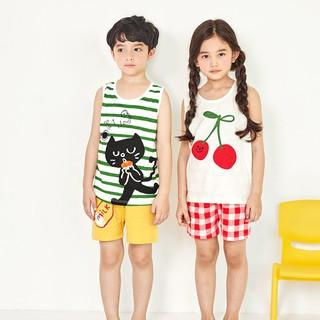Đồ bộ cho bé gái, bé trai 1-10 tuổi Unifriend Hàn Quốc UNIG11