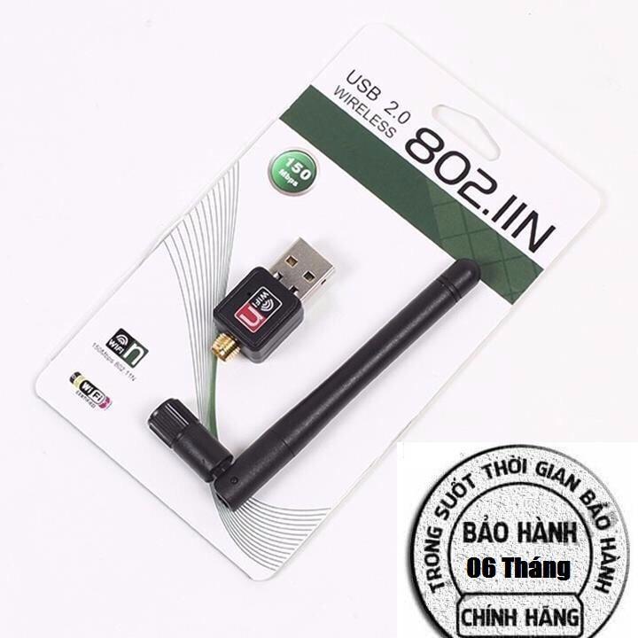 USB 2.0 thu wifi có anten Giá chỉ 65.000₫