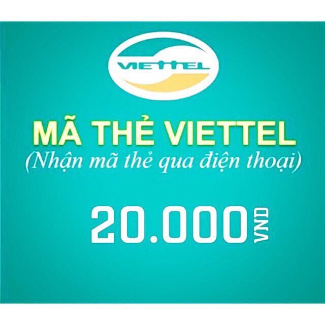 Mã thẻ Viettel 2