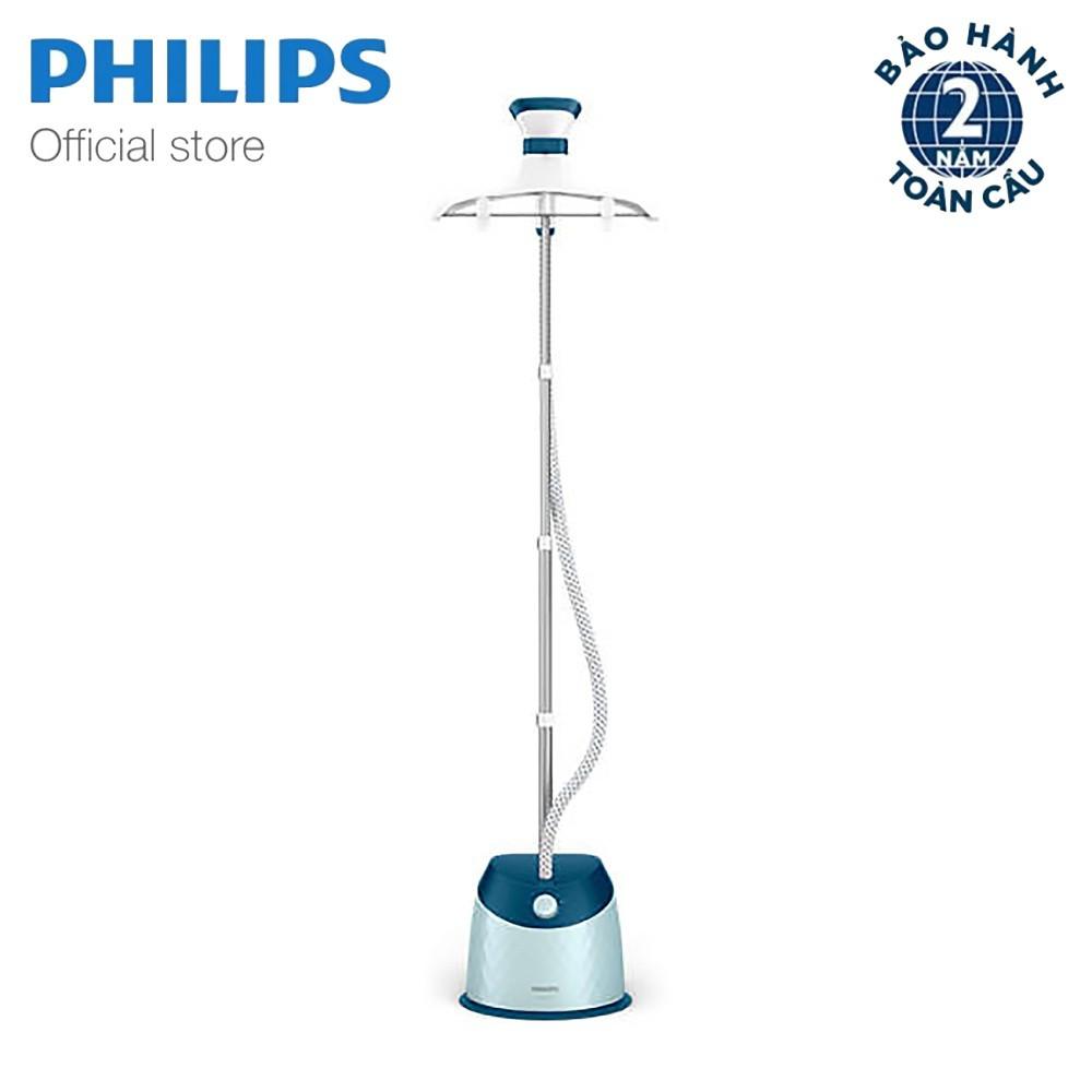 [Mã ELMA300 Giảm 10% đơn 300K]Bàn ủi hơi nước đứng Philips GC518 (Xanh) - Hãng phân phối chính thức