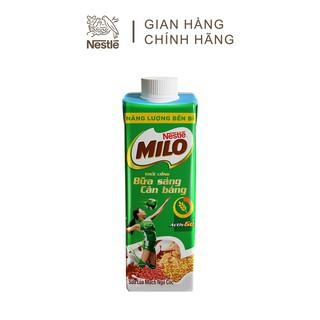 Hình ảnh [Mua 12 tặng 12] Thùng 24 hộp sữa lúa mạch ngũ cốc Nestlé MILO teen bữa sáng ít đường 200 ml/hộp-3