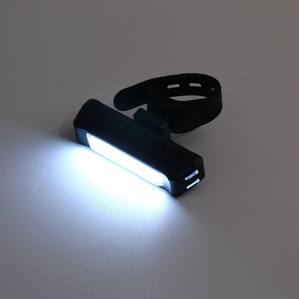 Đèn LED cường độ sáng 100 lumen có thể sạc lại tiện lợi dành cho xe đạp