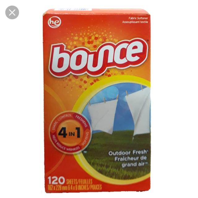 Giấy thơm Bounce 4 in 1 ( 120 tờ)