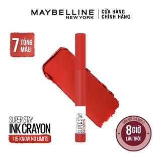 Son bút chì mịn lì 8h lâu trôi Maybelline New York Super Stay Ink Crayon Lipstick 1.2g thumbnail