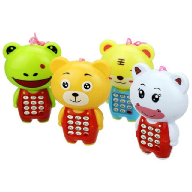 Điện thoại hình thỏ đồ chơi có nhạc ch