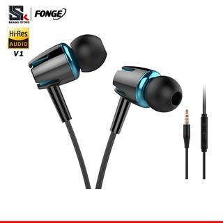 Tai nghe Fonge X1 thiết kế nhét tai giắc cắm 3,5mm