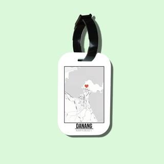 Travel tag cho túi xách balo du lịch in hình Love City - Da nang thumbnail