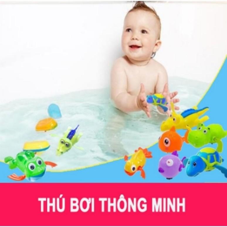[Rẻ Vô Địch] Freeship 99k - [FOLLOW SHOP 9K - 19H, 21/9] Đồ chơi con vật (Thú bơi thông minh)