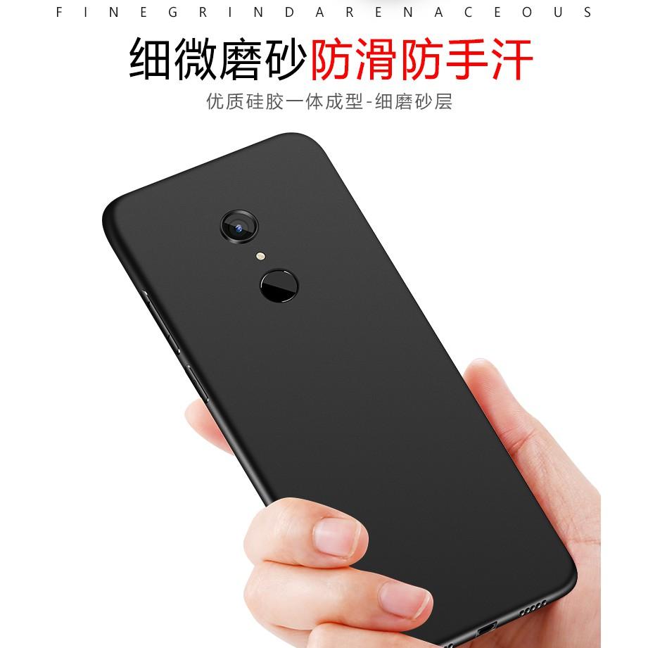 Xiaomi Redmi 5 / Redmi 5 PLUS - Ốp Cao Su Dẻo Đen Siêu Mỏng