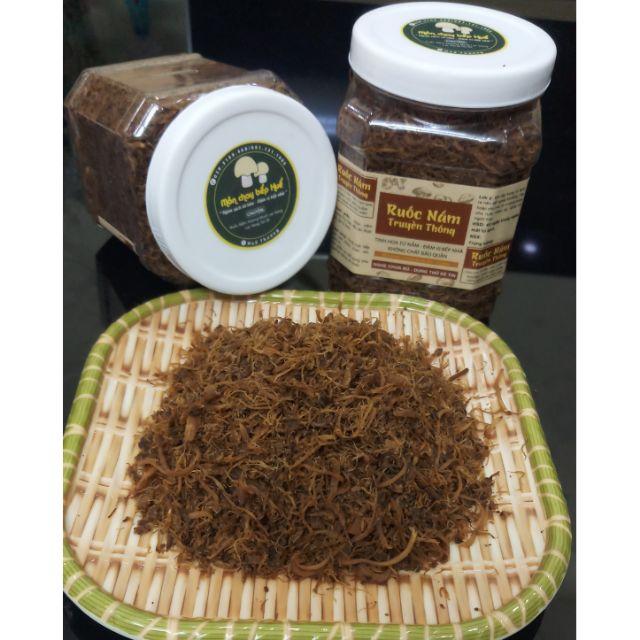 [Keto] Ruốc nấm hương (chà bông nấm) Organic Phú Gia không đường