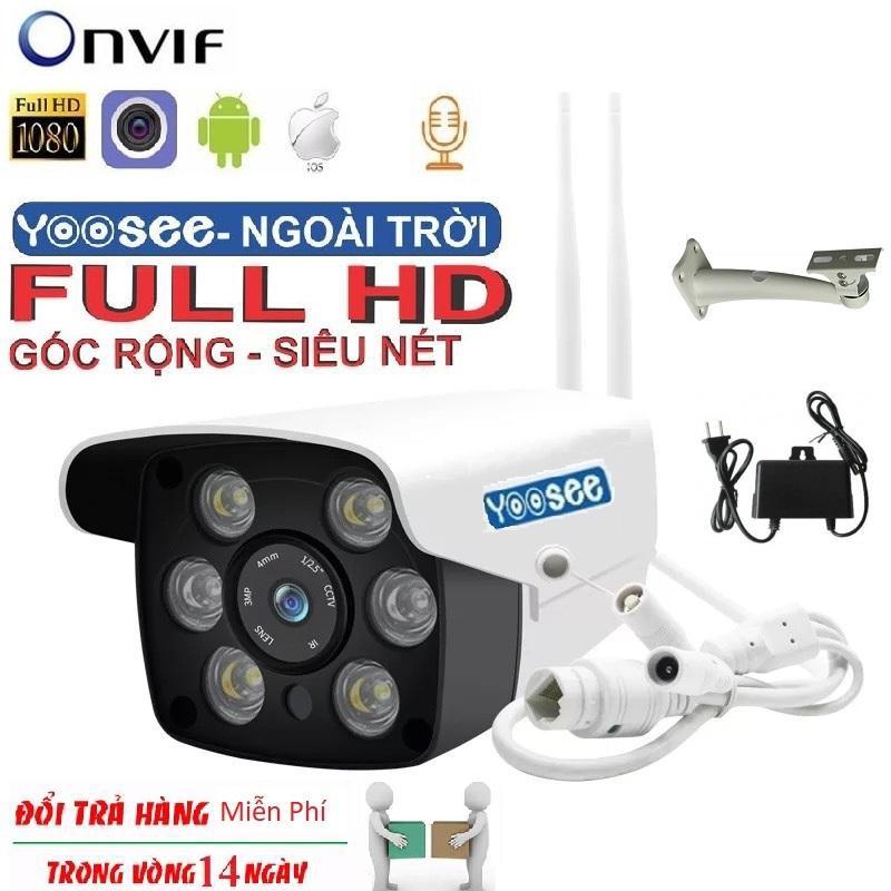 Camera Yoosee 6 LED Ngoài Trời Có Màu Ban Đêm