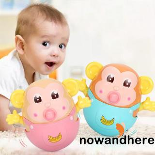 ✨NOW-Tumbler Monkey Bite Anti-collision Drop-resistant Teether Bathroom Bedroom Baby Children´s Grip Toys