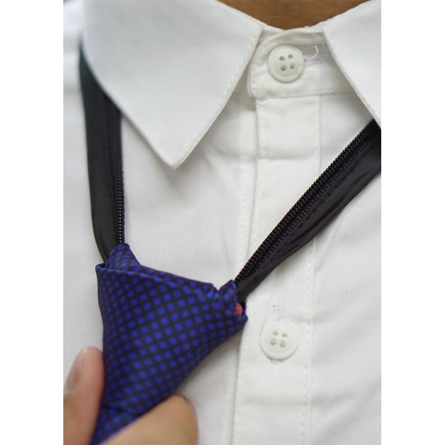 Cà vạt thắt sẵn, cà vạt nam bản 6.5cm Facioshop CP14