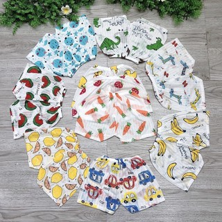 Quần đùi chục cotton giấy cho bé cực đẹp cực mát (bán lẻ) thumbnail