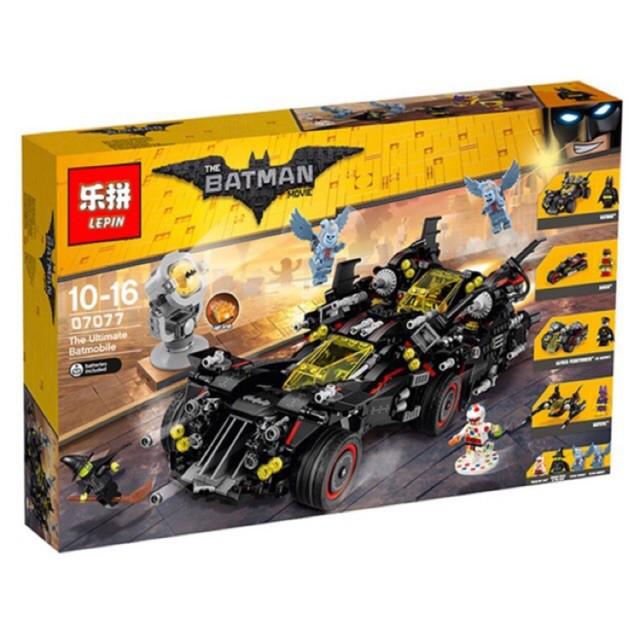 [Giá cực sốc] - Đồ chơi  Lego super hero 07077 - Siêu xe của Người dơi 1496 miếng ghép - 14049633 , 1559556317 , 322_1559556317 , 830000 , Gia-cuc-soc-Do-choi-Lego-super-hero-07077-Sieu-xe-cua-Nguoi-doi-1496-mieng-ghep-322_1559556317 , shopee.vn , [Giá cực sốc] - Đồ chơi  Lego super hero 07077 - Siêu xe của Người dơi 1496 miếng ghép
