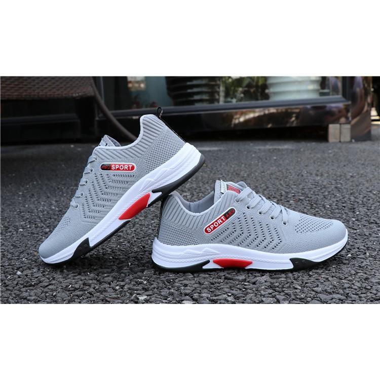 Giày Thể Thao Nam Sport Abu Mạnh Mẽ- Màu Ghi G23