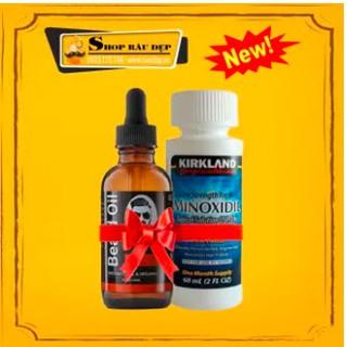 Combo Minoxidil 5% & Beard Oil 10ml
