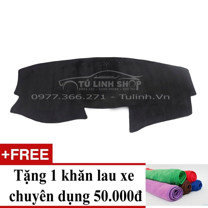 Thảm chống nắng taplo cho xe Camry 2010 Việt Nam + Tặng 1 khăn lau xe