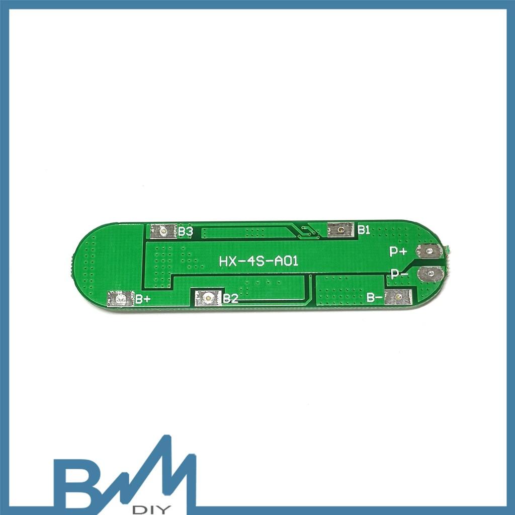 Mạch sạc và bảo vệ pin 4s 16.8V 10A 4 mos