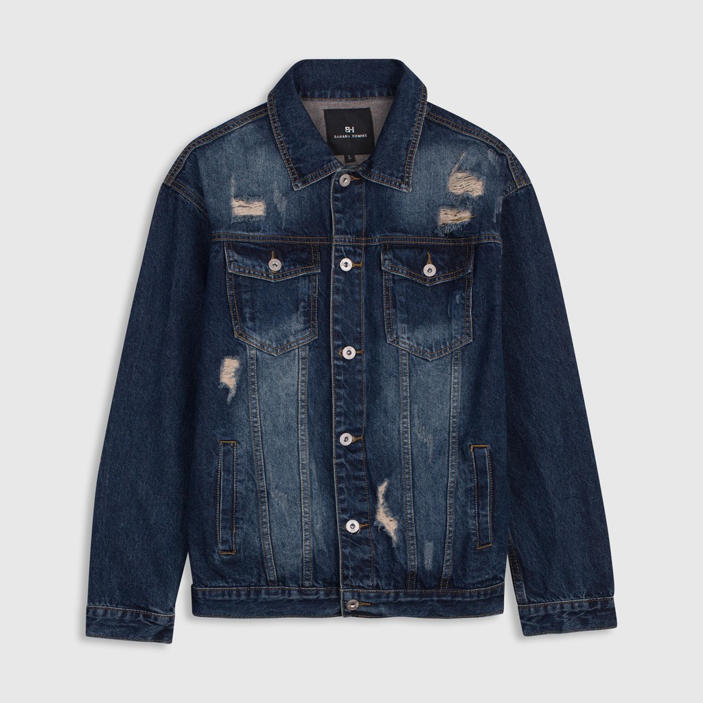 Áo Khoác Denim/Jeans Trend Regular - 21993867 , 6213101179 , 322_6213101179 , 899000 , Ao-Khoac-Denim-Jeans-Trend-Regular-322_6213101179 , shopee.vn , Áo Khoác Denim/Jeans Trend Regular