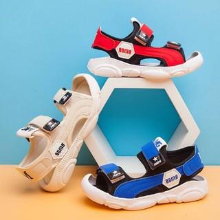 Sandal chống vấp cho bé đế gấu mềm êm chân quai dán tiện dụng