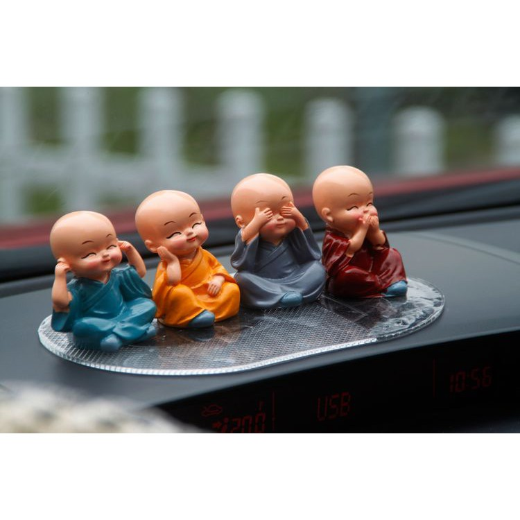 tượng chú tiểu đáng yêu trang trí xe hơi - 22137412 , 3802906361 , 322_3802906361 , 156700 , tuong-chu-tieu-dang-yeu-trang-tri-xe-hoi-322_3802906361 , shopee.vn , tượng chú tiểu đáng yêu trang trí xe hơi
