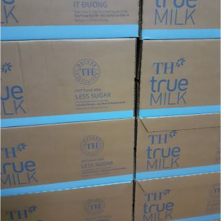 Giảm 5k khi mua tại Shop Tặng 1 giỏ vải -Ít đường TH bịch 220 ml ( 48 bịch, GH khu vực HCM)