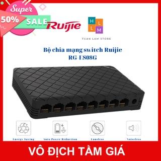 Bộ chia mạng switch Ruijie RG-ES08G 8 cổng 10 100 1000BASE-T Vỏ nhựa thumbnail