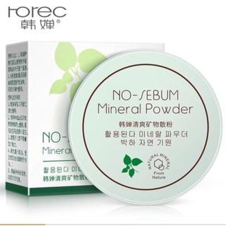 Phấn phủ bột kiềm dầu No Sebum Mineral Powder Rorec thumbnail