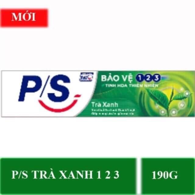 Kem Đánh Răng P/S Bảo Vệ 123 Trà Xanh (190g)