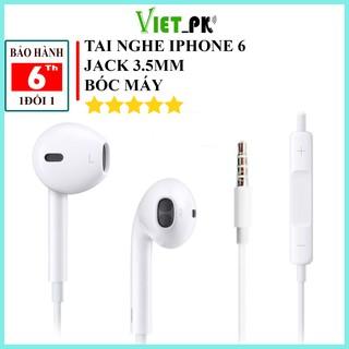 Tai nghe iphone 5/5s/6/6s/6s plus cổng(jack) 3.5mm bóc máy chính hãng