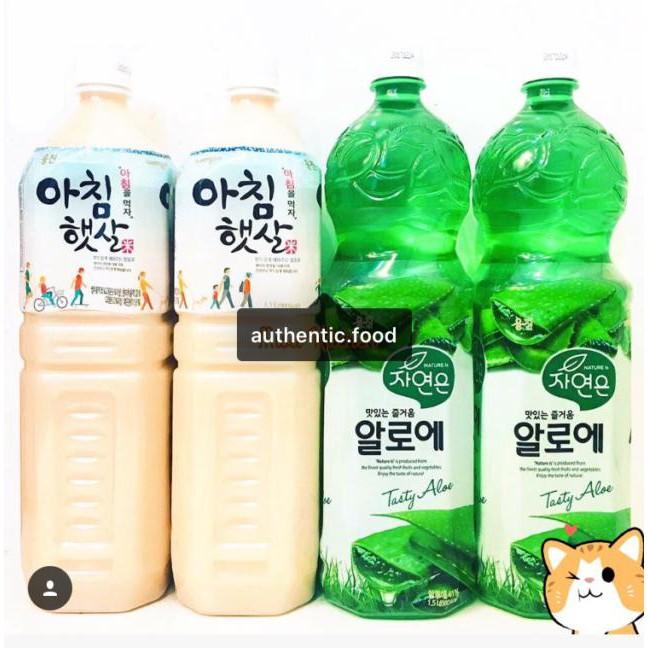 Combo 5 chai mix nước gạo và nha đam Woongjin Hàn Quốc chai 1,5L date mới nhất - 2849315 , 562307641 , 322_562307641 , 219000 , Combo-5-chai-mix-nuoc-gao-va-nha-dam-Woongjin-Han-Quoc-chai-15L-date-moi-nhat-322_562307641 , shopee.vn , Combo 5 chai mix nước gạo và nha đam Woongjin Hàn Quốc chai 1,5L date mới nhất